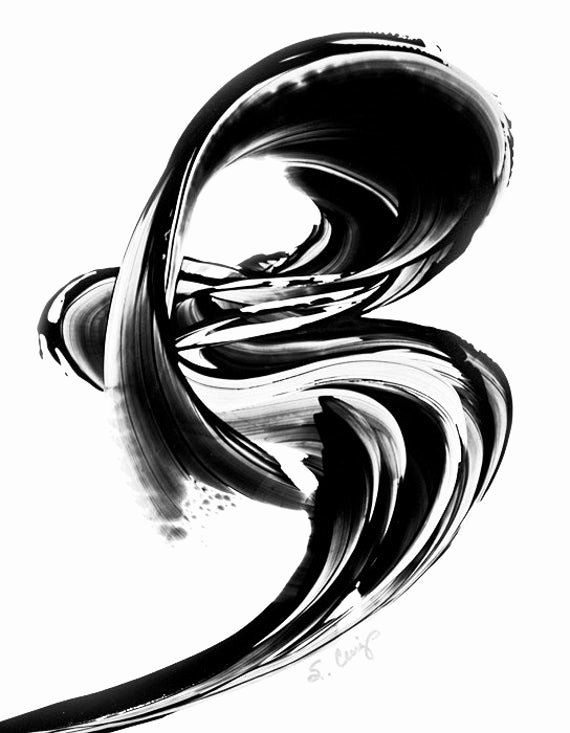 Black and White Abstract Paintings Luxury Black and White Painting Bw Abstract Art Artwork High Contrast