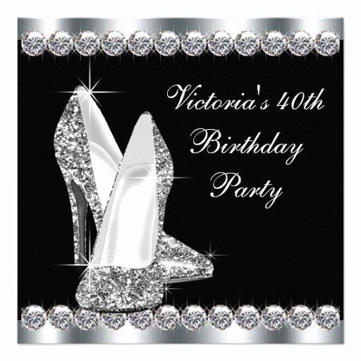 Black and White Birthday Invitations Lovely Black and White Birthday Party Invitations Free Invitation Templates Drevio
