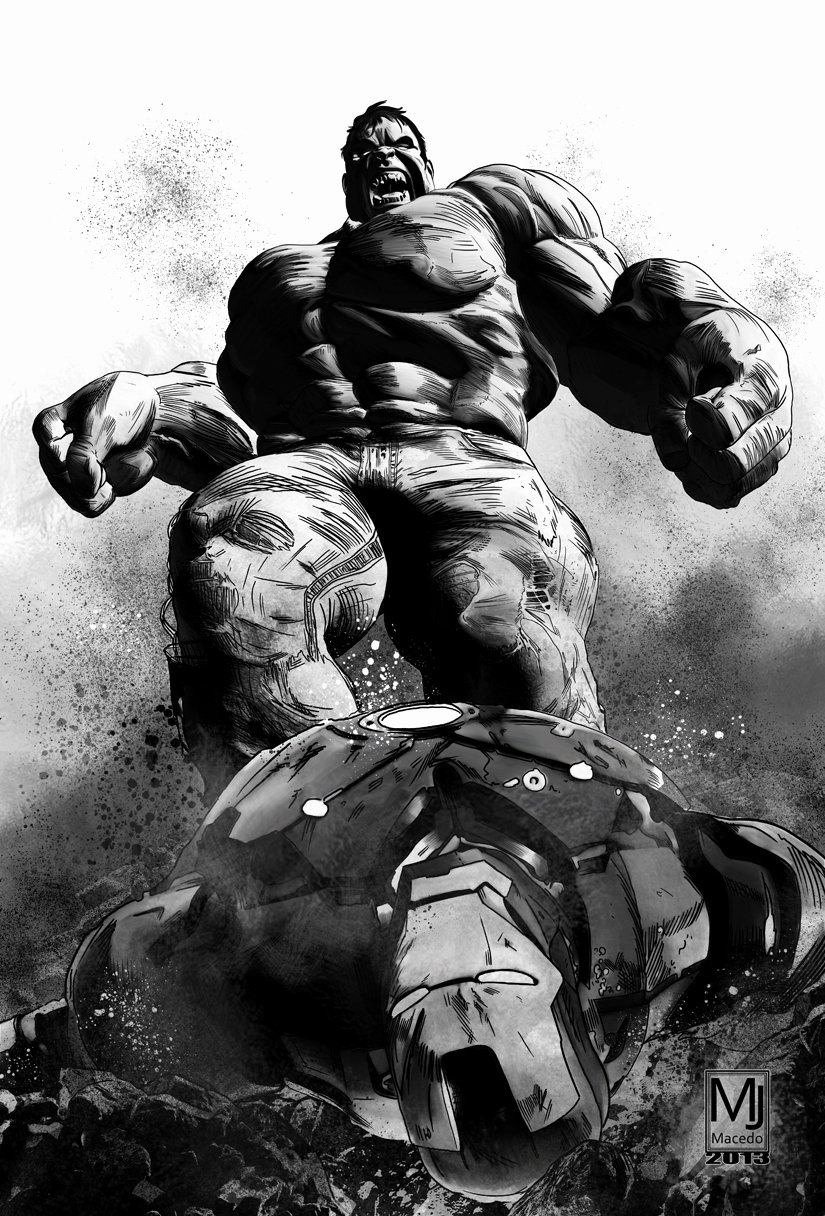 Black and White Drawings Inspirational Iron Man