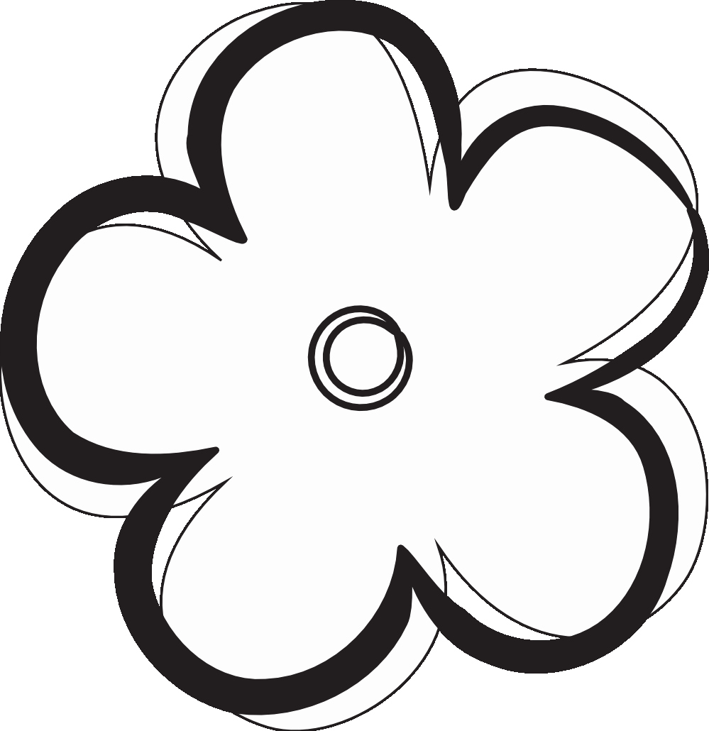 Black and White Flower Drawing Beautiful Free Flower Black and White Download Free Clip Art Free Clip Art On Clipart Library