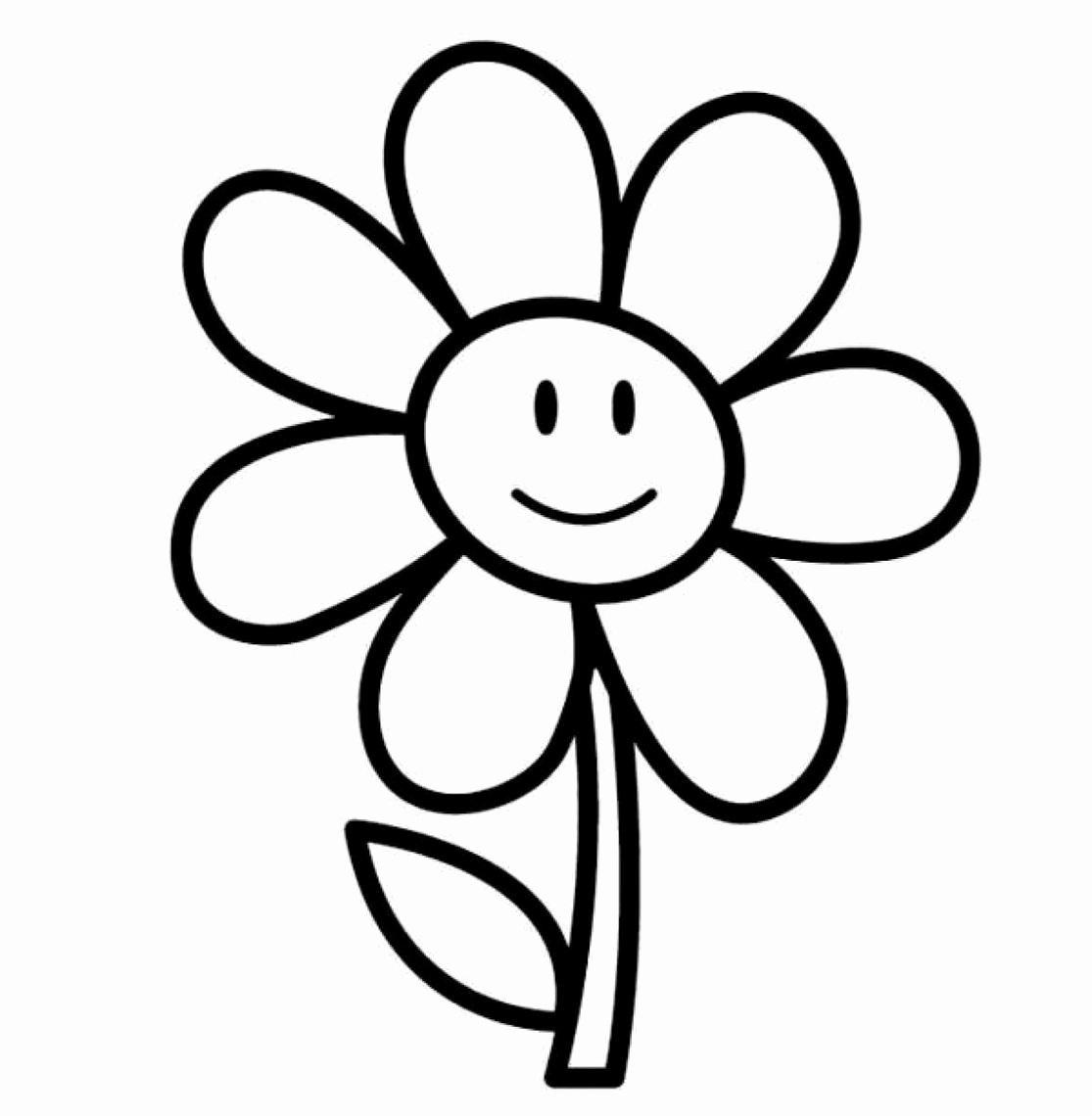 Black and White Flower Drawings Elegant Black and White Flower Clipart Free Best Black Clip Art Library