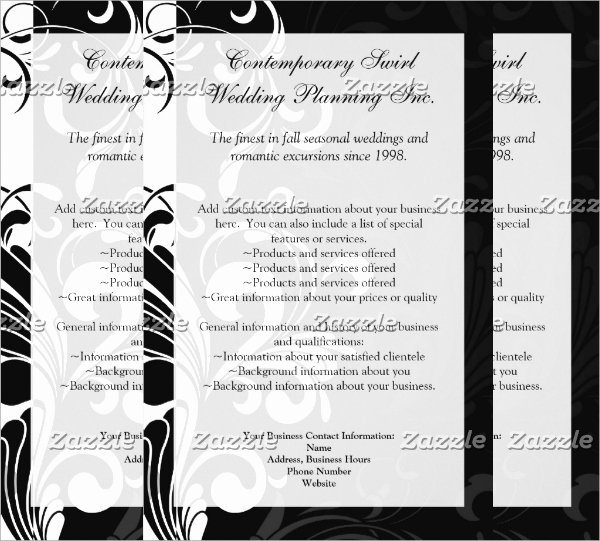 Black and White Flyer Lovely Contemporary Flyer 9 Download In Psd