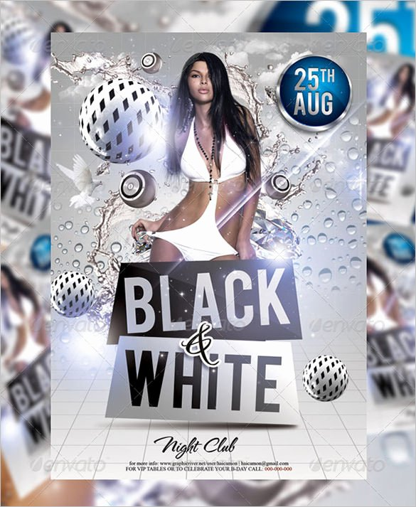 Black and White Flyer Luxury 21 Black and White Flyer Templates Psd Ai Indesign