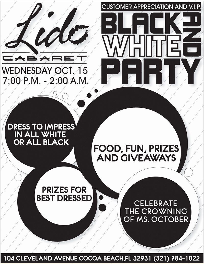 Black and White Flyer Luxury Black and White Party Flyer by Rachelisaprincess On Deviantart