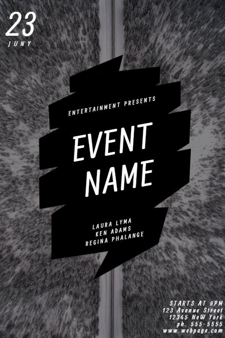 Black and White Flyer Templates Beautiful 36 Best Party and Nightclub Posters Images On Pinterest