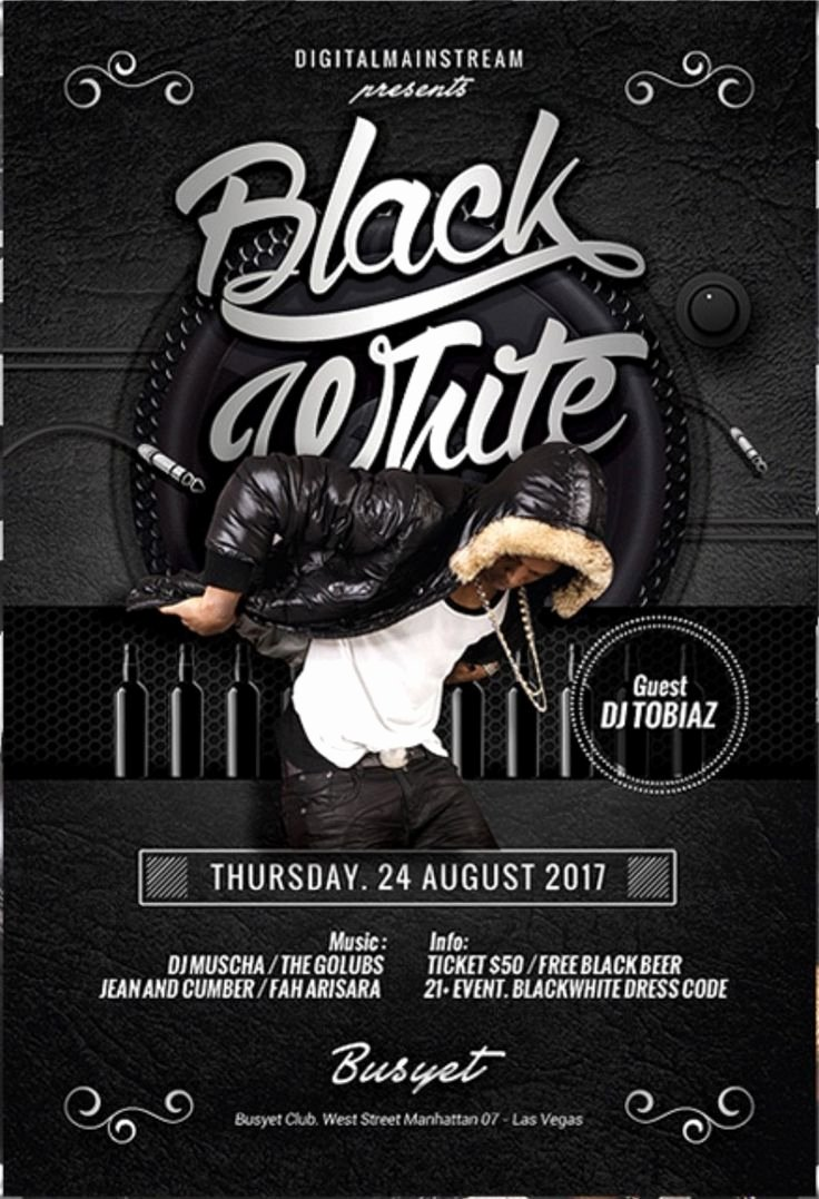 Black and White Flyer Templates Elegant Best 25 Free Psd Flyer Templates Ideas On Pinterest