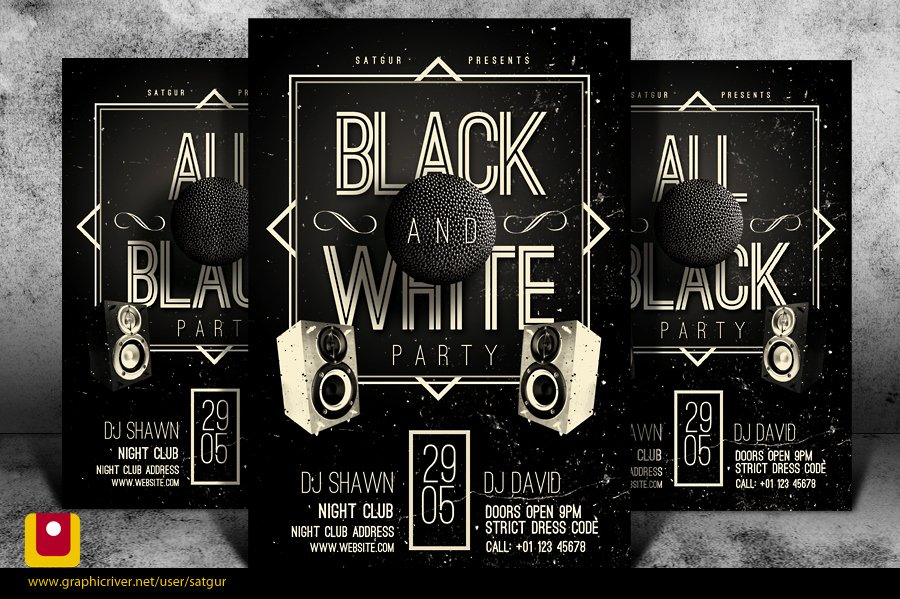 Black and White Flyer Templates Fresh 8 Deviantart Black and White Psd Black and White Flyer Templates Black and White Psd