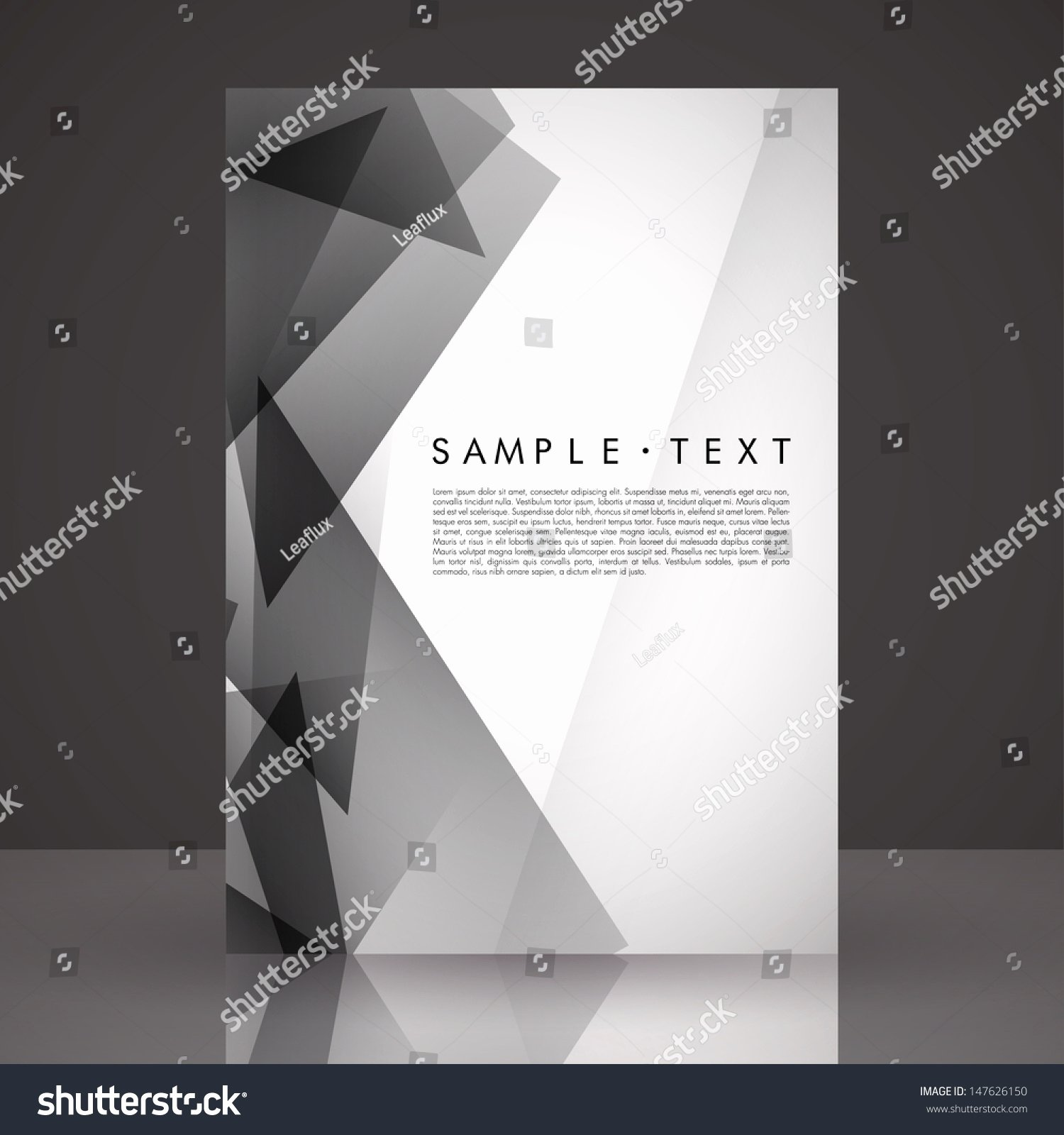 Black and White Flyer Templates Fresh Elegant Black and White Flyer Template