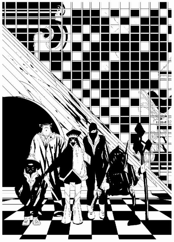 Black and White Illustration Fresh Black and White Illustrations by Kilian Eng