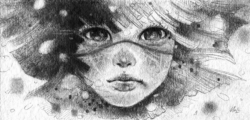 Black and White Illustration New Black White Pencil Illustrations by Mall Licudine