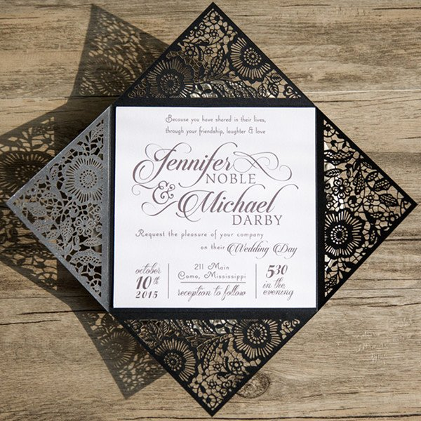 Black and White Invitation Lovely top 10 Wedding Color Scheme Ideas for 2018 Trends