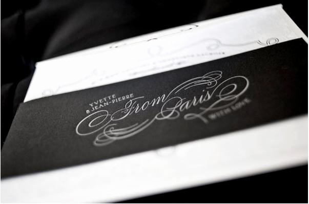 Black and White Invitation New How to Plan A Black and White Wedding