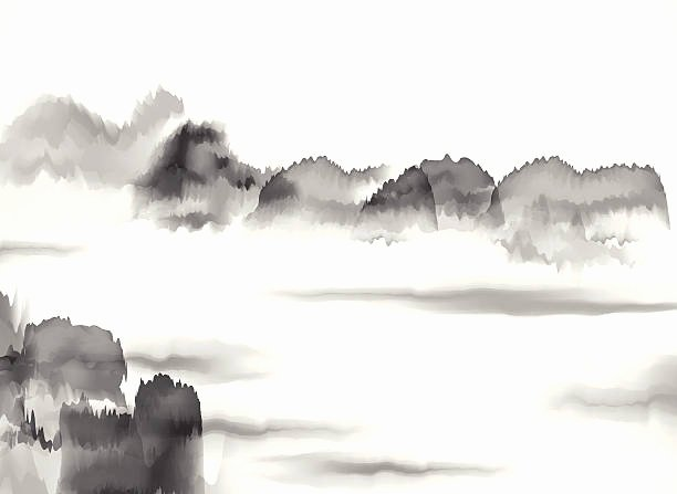 Black and White Paintings New Best Black and White Landscape Illustrations Royalty Free Vector Graphics & Clip Art istock