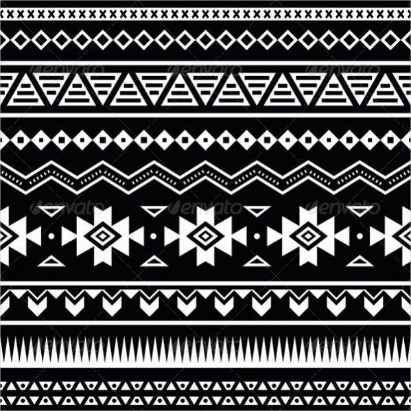 Black and White Pattern Lovely 40 Tribal Patterns Jpg Psd Ai Illustrator Download