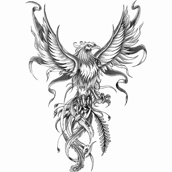 Black and White Phoenix Fresh 1001 Ideas and Hidden Meanings Behind some Tattoo Motifs