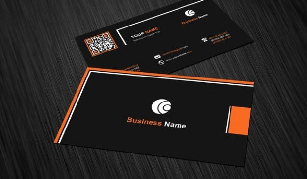 Black Business Card Background Inspirational Business Card Template with Black Background Psd File