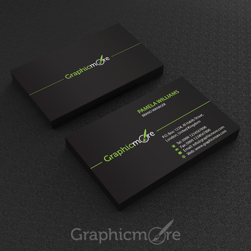 Black Business Card Template Awesome 25 Best Free Business Card Psd Templates for 2016