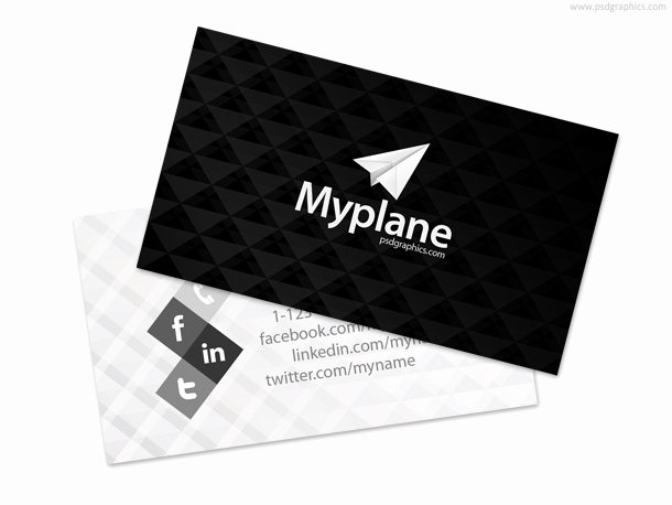 Black Business Card Template Beautiful 50 Best Free Psd Business Card Templates Download