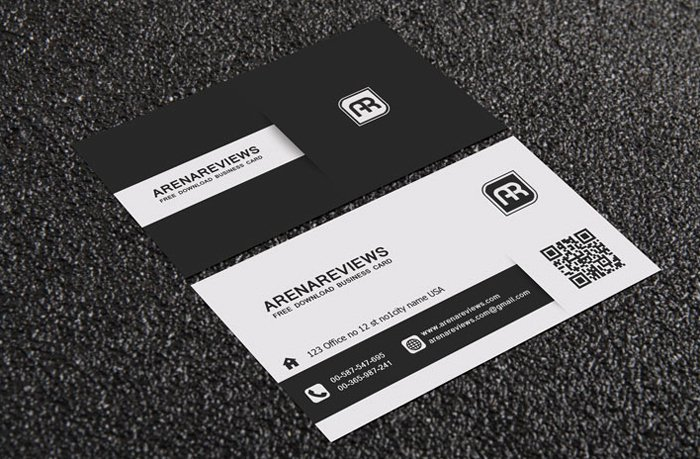 Black Business Card Template Fresh 20 Free Black and White Business Card Templates Designyep