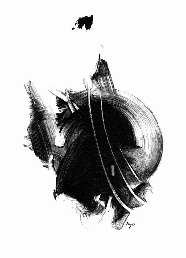 Black White Abstract Painting Best Of Black and White Abstract Print by Paul Maguire Art