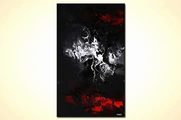 Black White Abstract Painting Best Of Painting for Sale Black White and Red Modern Abstract