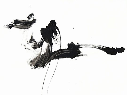 Black White Abstract Painting Fresh Black and White Abstract Ink Painting 54 6 Featuring