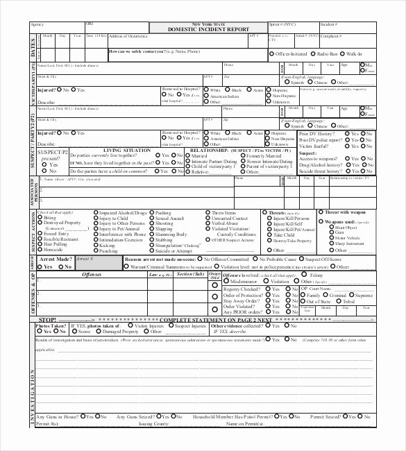 Blank Autopsy Report Template Fresh 19 Sample Police Report Templates Pdf Doc