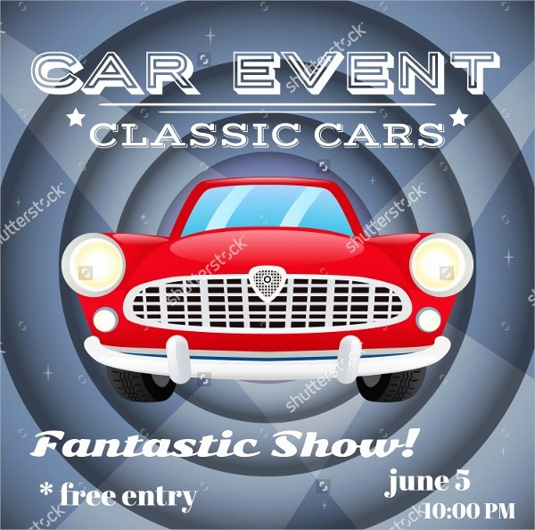 Blank Car Show Flyer Best Of Car Show Flyer Template 20 Download In Vector Eps Psd
