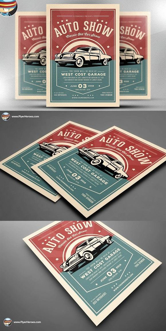 Blank Car Show Flyer Elegant Old Classic Car Show Flyer Template Flyer Templates Flyer Templates