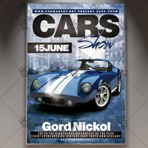 Blank Car Show Flyer Lovely Stance Car Show Premium Flyer Psd Template
