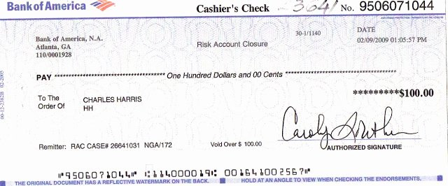 Blank Cashiers Check Template Fresh 27 Of Bank America Check Template