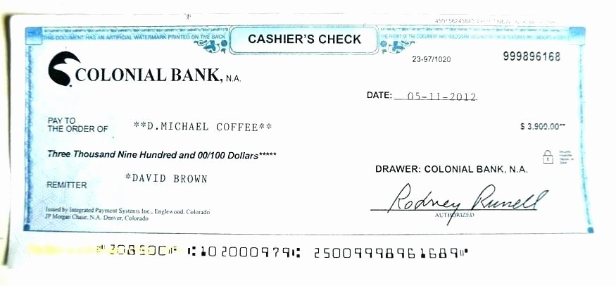 Blank Cashiers Check Template New Big Cheque Template