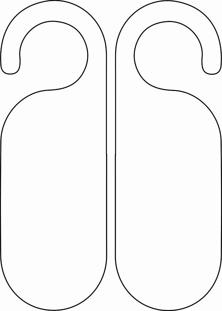 Blank Door Hanger Template Awesome Do Not Disturb Template by Emywarrior On Deviantart
