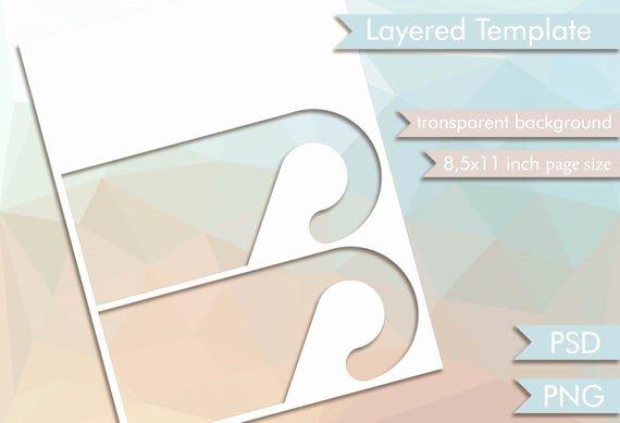 Blank Door Hanger Template Awesome Door Hanger 2 Layered Template Digital Collage Sheet