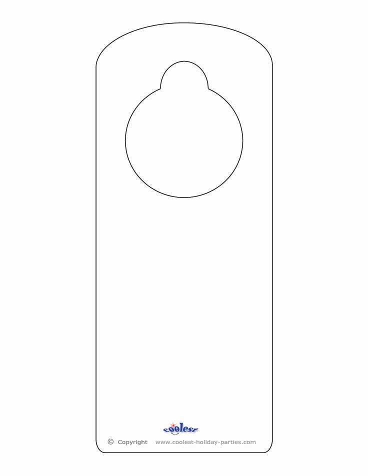 Blank Door Hanger Template Beautiful 25 Best Ideas About Door Hanger Template On Pinterest