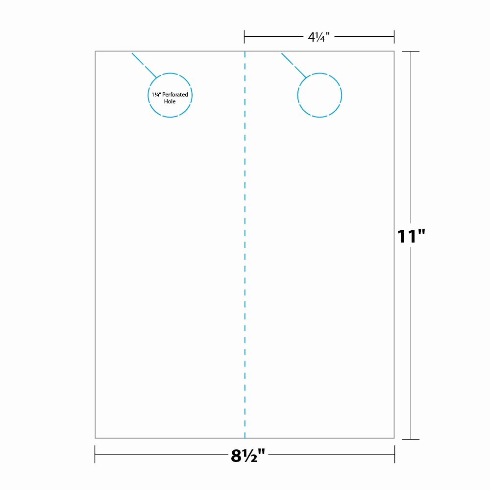 Blank Door Hanger Template Inspirational Door Hanger Template