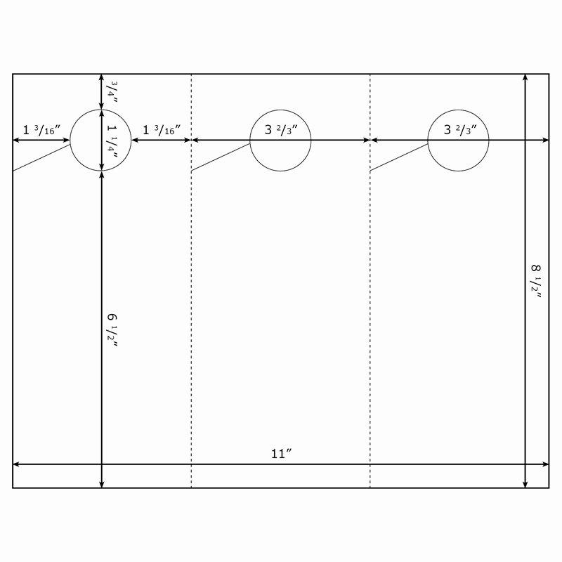 Blank Door Hanger Template New Burris 3 Per Page Door Hanger Template for Microsoft Word