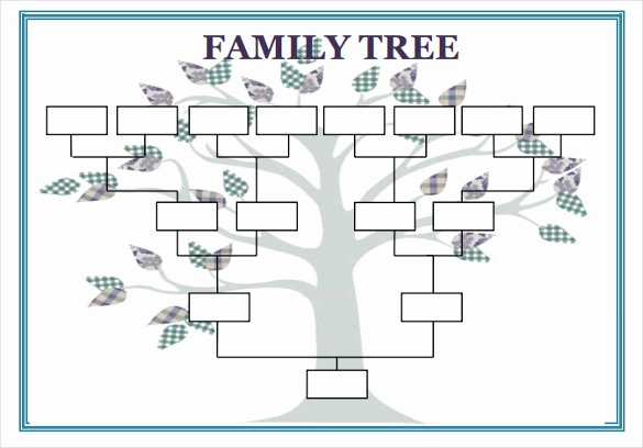 Blank Family Tree Book Inspirational Blank Family Tree Template 32 Free Word Pdf Documents Download