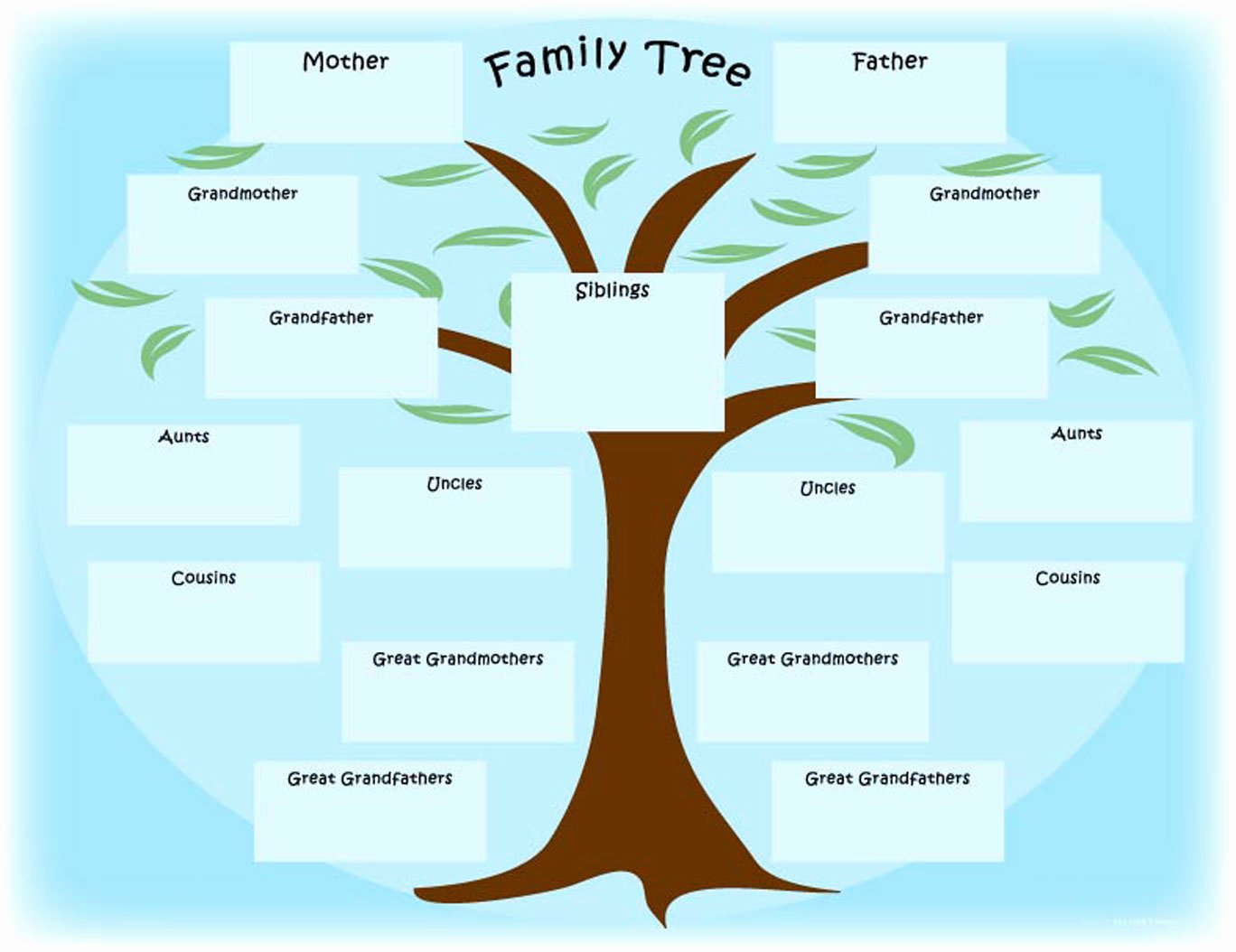 Blank Family Tree Book Unique Family Tree S – Weneedfun