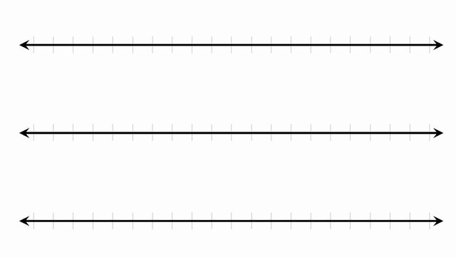 Blank Line Graph Template Beautiful 16 Number Line Template Business Step Paper and Numbers Design Template Stock