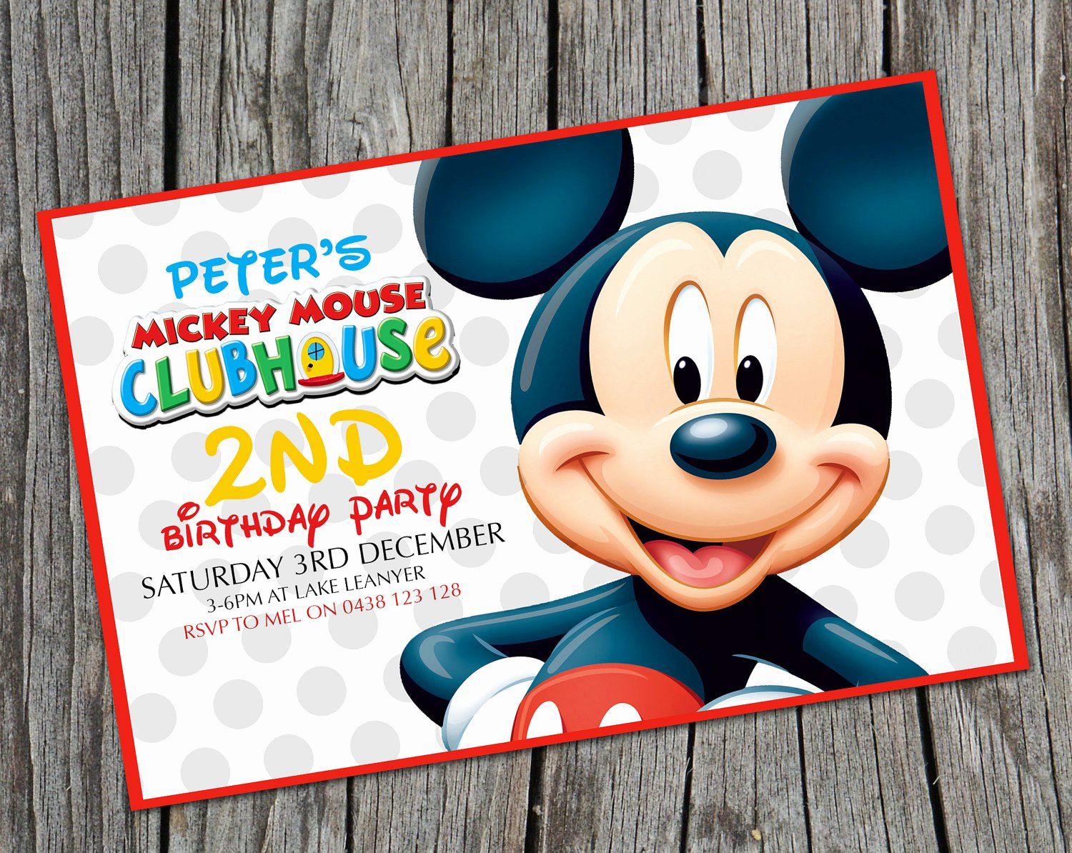 Blank Mickey Mouse Invitations Best Of Mickey Mouse Birthday Invitations Free Printable