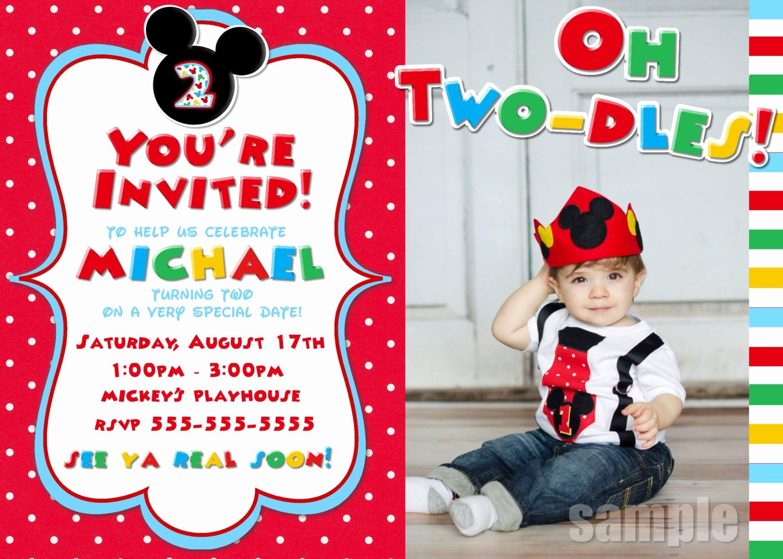 Blank Mickey Mouse Invitations Elegant Blank Mickey Mouse Birthday Invitations Blank Mickey M