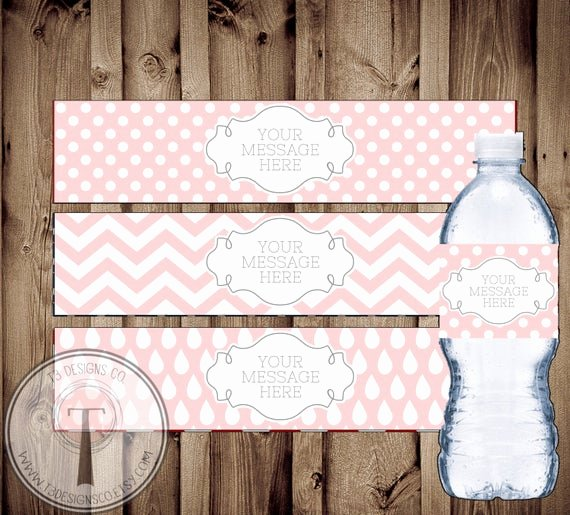 Blank Water Bottle Labels Best Of Blank Water Bottle Labels Instant Download Water Bottle