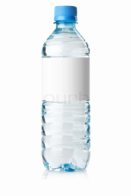 Blank Water Bottle Labels Best Of soda Water Bottle with Blank Label Stock