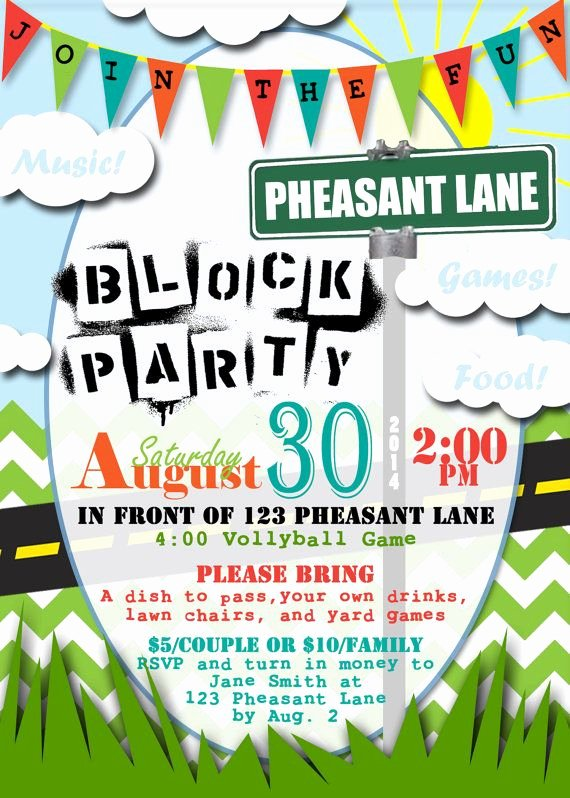 Block Party Flyer Template Best Of 25 Best Ideas About Block Party Invites On Pinterest