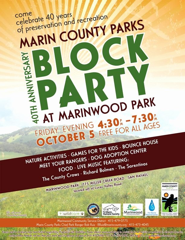 Block Party Flyer Template Unique Project Coyote events Munity Block Party