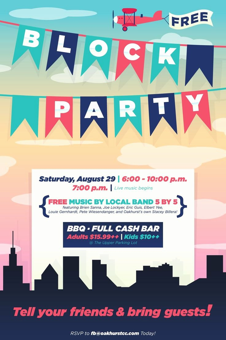 Block Party Flyer Templates Best Of Best 25 Block Party Invites Ideas On Pinterest