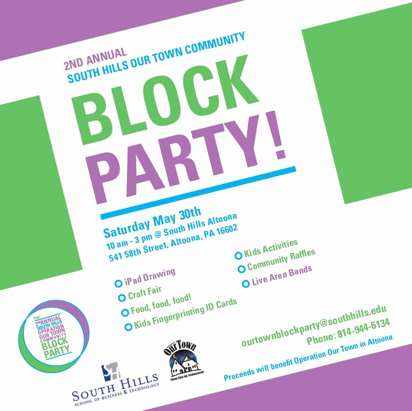 Block Party Flyer Templates Best Of Munity Block Party May 30