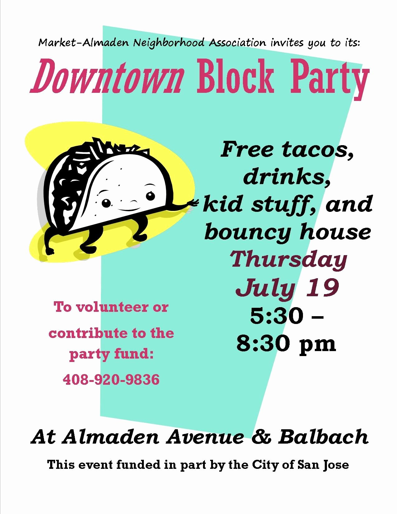 Block Party Flyer Templates Free Beautiful Block Party Flyer I Made
