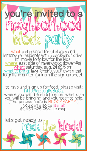 Block Party Flyer Templates Free Fresh 4 Block Party Flyer Template Bookletemplate